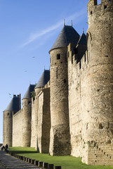 France. The Fortified city of Carcassonne