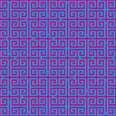 Pink abstract background with labyrinth, Vector