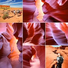 Arizona - Antelope canyon (réserve Navajo)