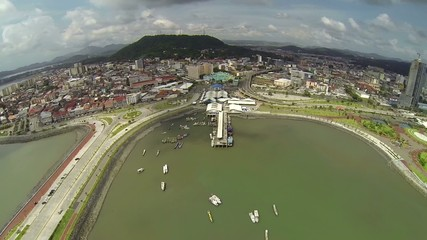 Cinta Costera, spectacular views of all of Panama City