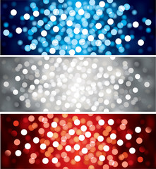 Vector defocused lights