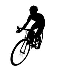 自転車シルエット
