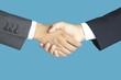 握手するビジネスマンの手
