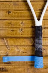 Renovation of old tennis racket