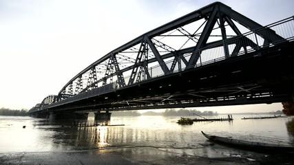 Po river flood