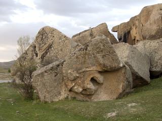 Phrygian Valley in Turkey  . Midas city, Eskisehir.