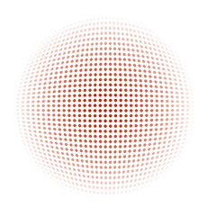 Dotted background, vector.