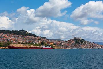 Sibenik, Croatia view from the sea