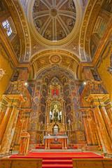 Seville - presbytery of baroque church Iglesia de Buen Suceso