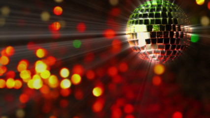 Abstract Background and Mirror Ball