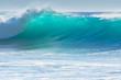 Leinwanddruck Bild - Waves breaking on the shore of Madeira