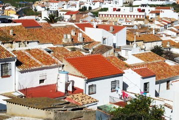 Village rooftops, Colmenar © Arena Photo UK
