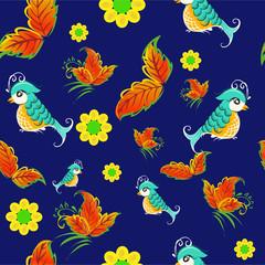 birds on rowan pattern