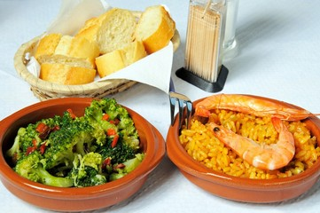 Spanish tapas dishes © Arena Photo UK