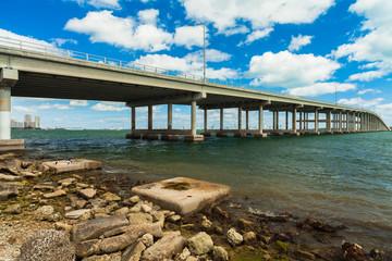 Rickenbacker Causeway Bridge