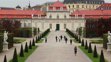 Austria Royal Prince residence Vienna Palace Belvedere Baroque