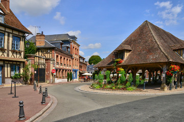 Normandie, the picturesque city of Lyons la Foret