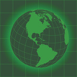 North America green