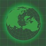 Norh Pole green poster