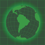 South America green