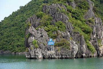 Parkplatz für Schiffe