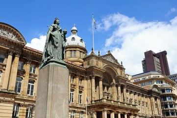 Queen Victoria Statue, Birmingham © Arena Photo UK
