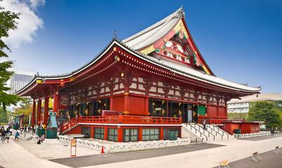 Sensoji-ji Temple in Asakusa, Tokyo,  Japan.