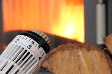 Ofen mit Thermostat