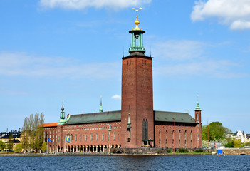 City Hall in Stockholm, Sweden, Europe