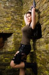 Armed Lara Croft - Chillout
