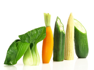 Junges Gemüse - Gemüsesorten