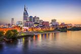Fototapety Nashville, Tennessee, USA City Skyline