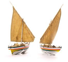 Kleines Modellbau-Segelboot