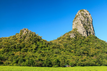 Limestone mountains