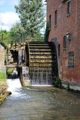 Working water mill, Lower Slaughter © Arena Photo UK