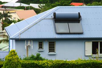 La Réunion - Chauffe-eau solaire