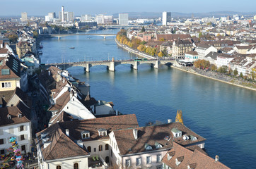 Basel from top