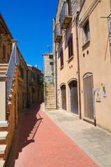 Alleyway. Guardia Perticara. Basilicata. Italy.