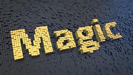 Magic cubics