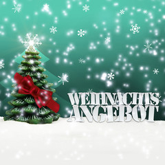 Weihnachtsangebot Angebot Angebote Weihnachten