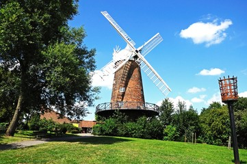Brick windmill, Nottingham © Arena Photo UK