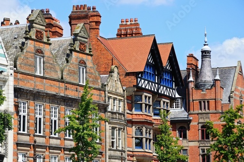 Keuken foto achterwand Begraafplaats Old Market Square buildings, Nottingham © Arena Photo UK