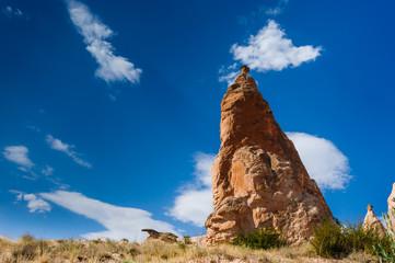 Bizzare rocks in Cappadocia, Turkey