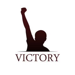 Victory logo template