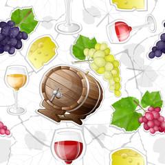 pattern of wine making