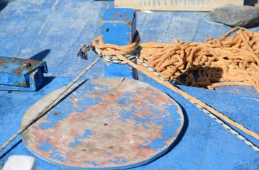 Auf einem kretischen Fischerboot