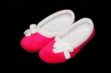 Ladies pink slippers © Arena Photo UK