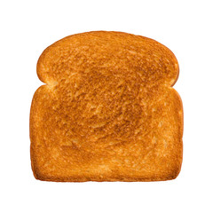 Toasted Slice of White Bread