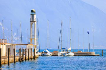 Coast of Riva del Garda