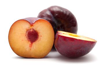 large dark plums